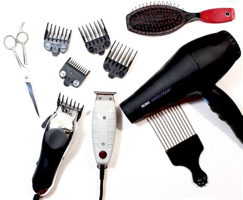 Hair Style Tools Names by Diy Tapered Cut Tools Tips