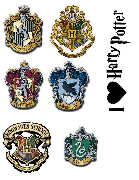 printable hogwarts house badges hogwarts house crests printable www imgkid com the