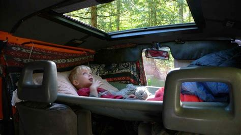 truck bed hammock cer van conversion toddler hammock bed google search