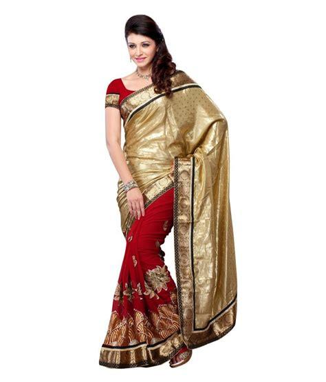 Season Blouse four seasons embroidery designer saree with