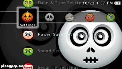 Psp Themes Download Ptf | ptf halloween psp themes free psp themes downloads