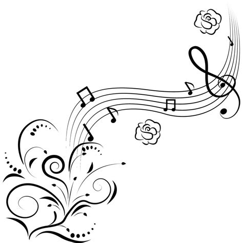 Cute Music Coloring Pages | free printable music note coloring pages for kids