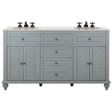 home depot home decorators vanity home decorators collection hamilton 61 in w x 22 in d