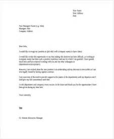 Exle Letter Of Resignation Professional by Heartfelt Resignation Letter Template 7 Free Word Pdf