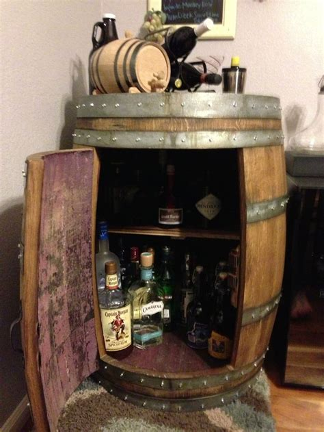 wine barrel home decor wine barrel wet bar decor pinterest