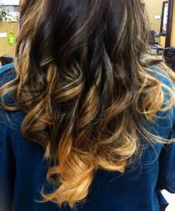 ombre color technique ombre hair color technique with medium brown and
