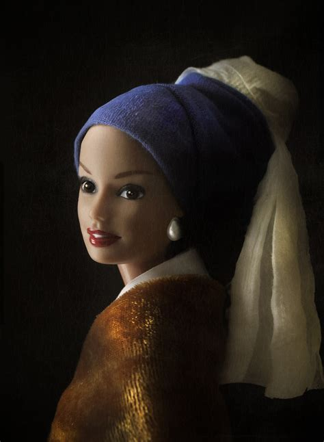 Clayton after vermeer s girl with a pearl earring from c 1665
