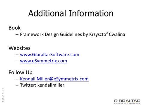 framework design guidelines krzysztof cwalina designing apis for others