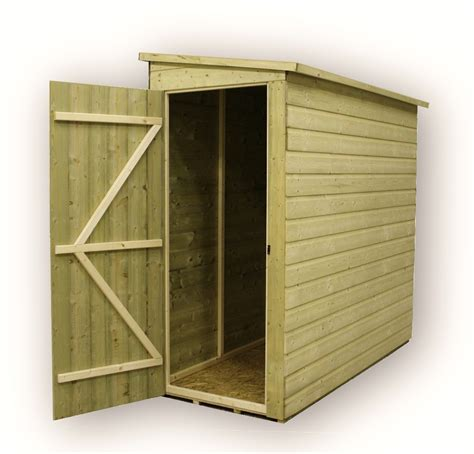 3 Foot Shed by Shedswarehouse Aston 3ft X 4ft Windowless Pressure