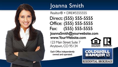 coldwell banker business card template coldwell banker business card design 16a business cards