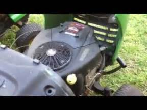 my john deere project mowers l120 and la120 youtube