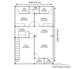 home map design 20 50 building a low cost 25x50 house in islamabad suggestions