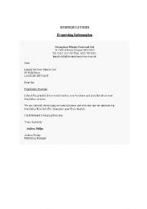 Business Letter Models In Teaching Worksheets Business Letter