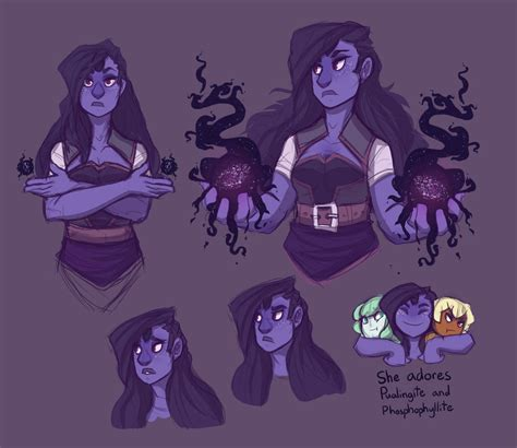 blue opal gemsona gemsona bloodshot iolite design by queenjordyn on