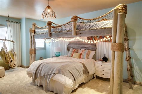 beach style beds bedroom over garage beach style with traditional wall mirrors