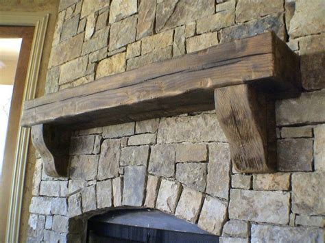 Rustic Mantels For Fireplaces by 25 Best Ideas About Rustic Fireplaces On