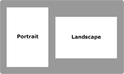 Photography Landscape Vs Portrait Portrait Landscape Paper For Book Binding
