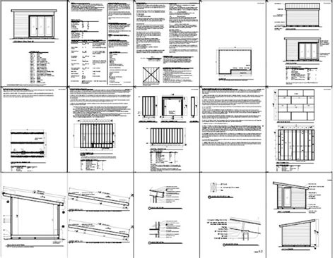 Free 8 X 16 Shed Plans by Free 8 X 16 Shed Plans Construct Your Own Shed By Means