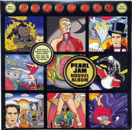 Cd Pearl Jam Back Spacers Imported Malaysia pearl jam backspacer limited edition 5 cd gatefolded die cut cardboard slipcase uk