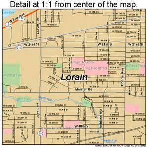 Lorain Ohio Map lorain ohio street map 3944856