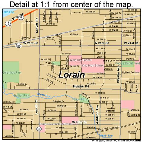 map of lorain ohio lorain oh pictures posters news and on your