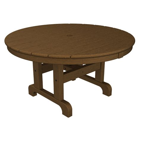 polywood 36 inch outdoor coffee conversation table