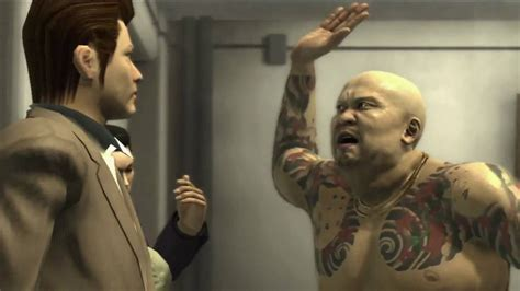 rikiya tattoo yakuza 3 yakuza 3 characters trailer german version youtube