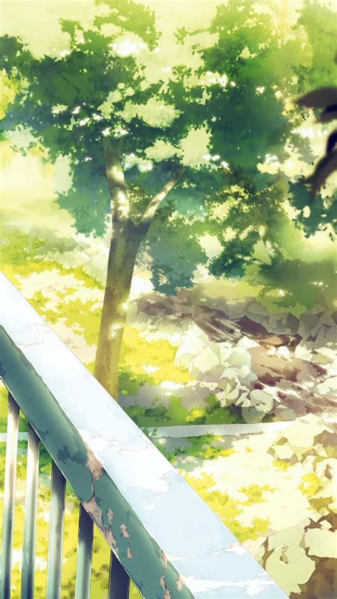 aj anime background art illust forest papersco
