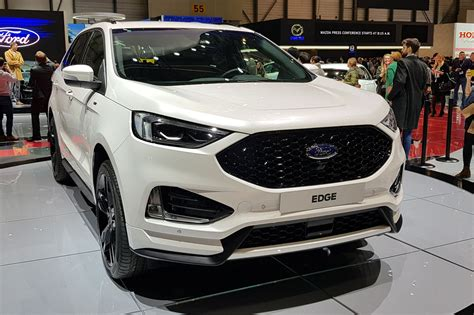 2019 Ford Edge New Design by New Ford Edge Updated Suv Arrives At Geneva 2018 Car