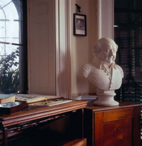 Jefferson S Cabinet by Bust Of In Jefferson S Cabinet At Monticello