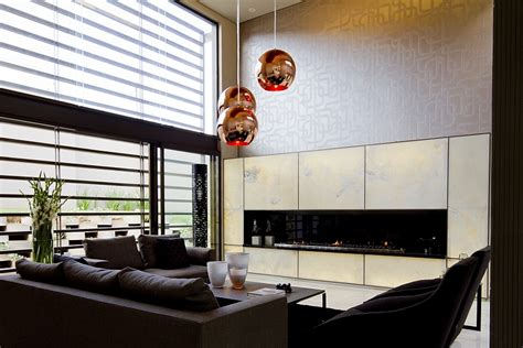 Pendant Lights For Living Room by Dramatic Modern Residence Amazes With Beautiful Style And
