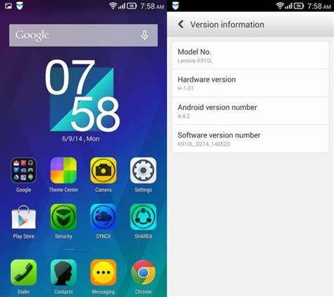 Lenovo Vibe Z Update Lenovo Vibe Z Starts Getting Android 4 4 2 Kitkat Ota Update