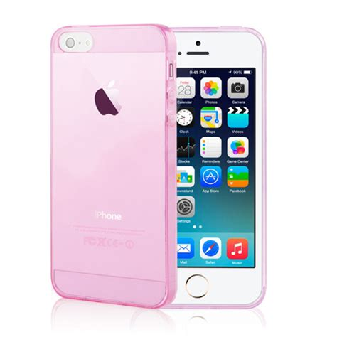 Hp Iphone 6 Pink iphone 6s 6 plus se 5s 5 ultra thin soft clear back