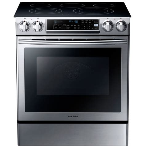 samsung electric range samsung ne58f9500ss slide in electric range appliances