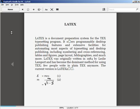 best format epub mobi latex document to epub or mobi ebook formats with