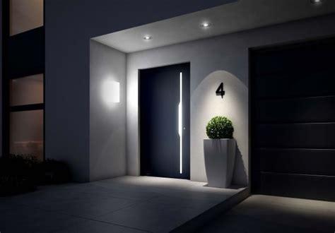 Designer Garage Door aussenbeleuchtung schafft sicherheit bauemotion de