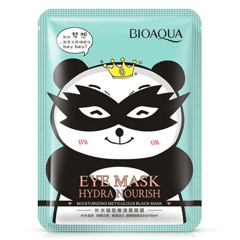 Bioaqua Black Mask Original bioaqua hydrating meticulous smooth black eye mask fade circle eye bag anti wrinkles