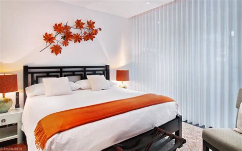 orange bedroom orange white bedroom interior design ideas