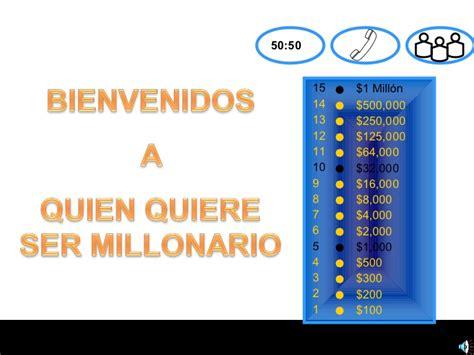 quien quiere ser millonario14 5 2016 quien quiere ser millonario definitivo