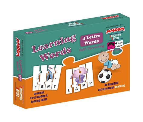 4 Letter Words Puzzle learning words 4 letter masoom playmates