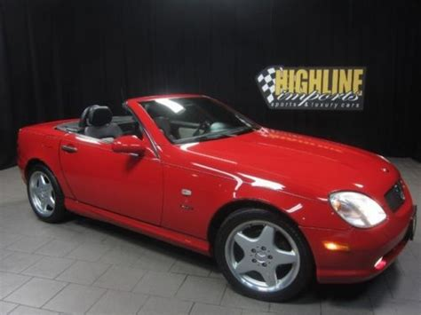 online service manuals 2000 mercedes benz slk class regenerative braking purchase used 2000 mercedes slk230 6 speed manual 185hp 2 3l supercharged 4 cyl in easton