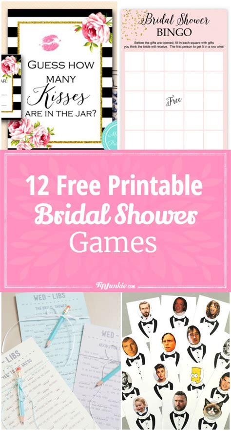 printable free bridal shower games 12 free printable bridal shower games us204