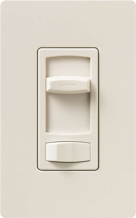 lutron dimmer lutron ctcl 153p la light almond skylark contour cl