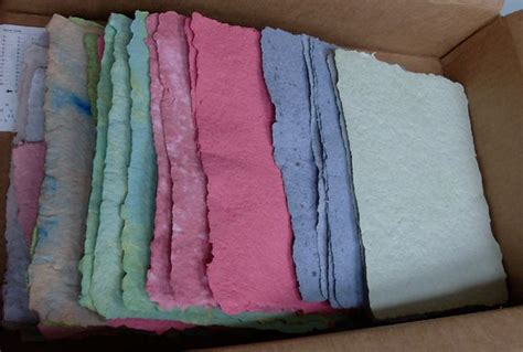 Make Handmade Paper - diy recycled paper make it your library