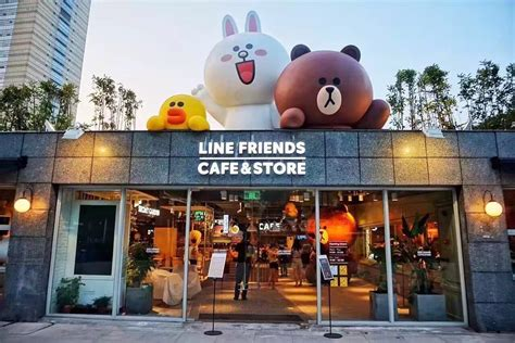 line store line friends cafe store shows up in nanjing