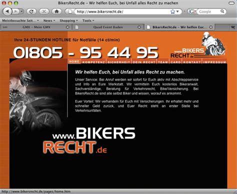 Versicherung Motorrad Billig by Umfassender Service Bei Bikersrecht De Atv Quad Magazin