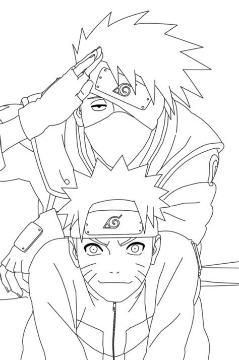 coloring in pages printable free printable naruto coloring pages for kids