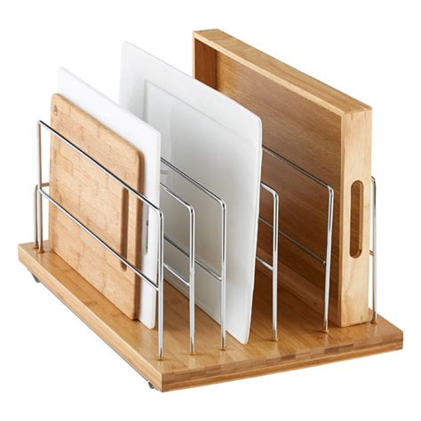 shelf organizer for kitchen cabinet cabinet organizers the container store