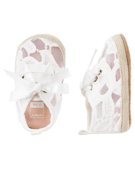 Carters Crib Shoes by S Espadrille Crib Shoes Carters