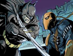 batman deathstroke prep battle battles comic vine